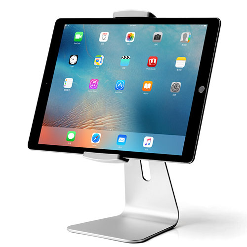 Universal Tablet Stand Mount Holder T24 for Huawei MatePad 10.4 Silver