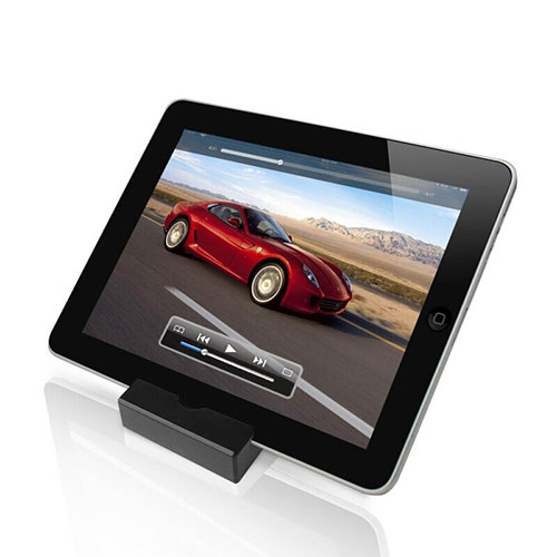 Universal Tablet Stand Mount Holder T26 for Apple iPad 3 Black