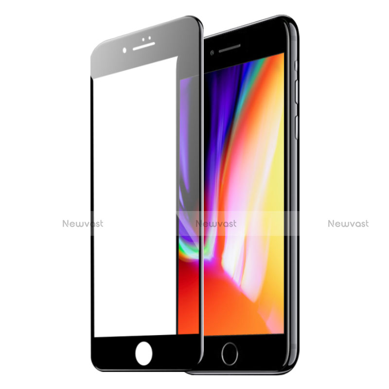 3D Tempered Glass Screen Protector Film for Apple iPhone SE (2020) Black