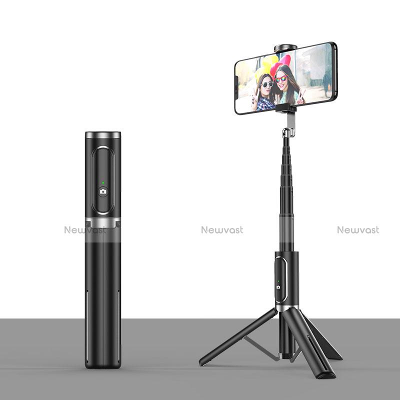 Extendable Folding Handheld Selfie Stick Tripod Bluetooth Remote Shutter Universal T26