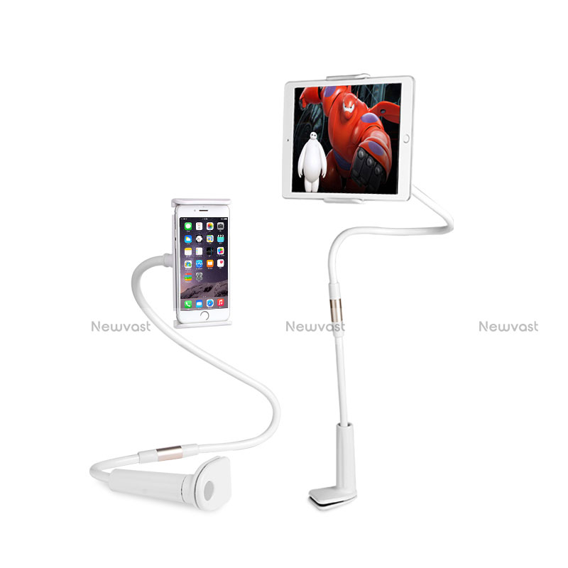 Flexible Tablet Stand Mount Holder Universal T30 for Apple iPad 2 White