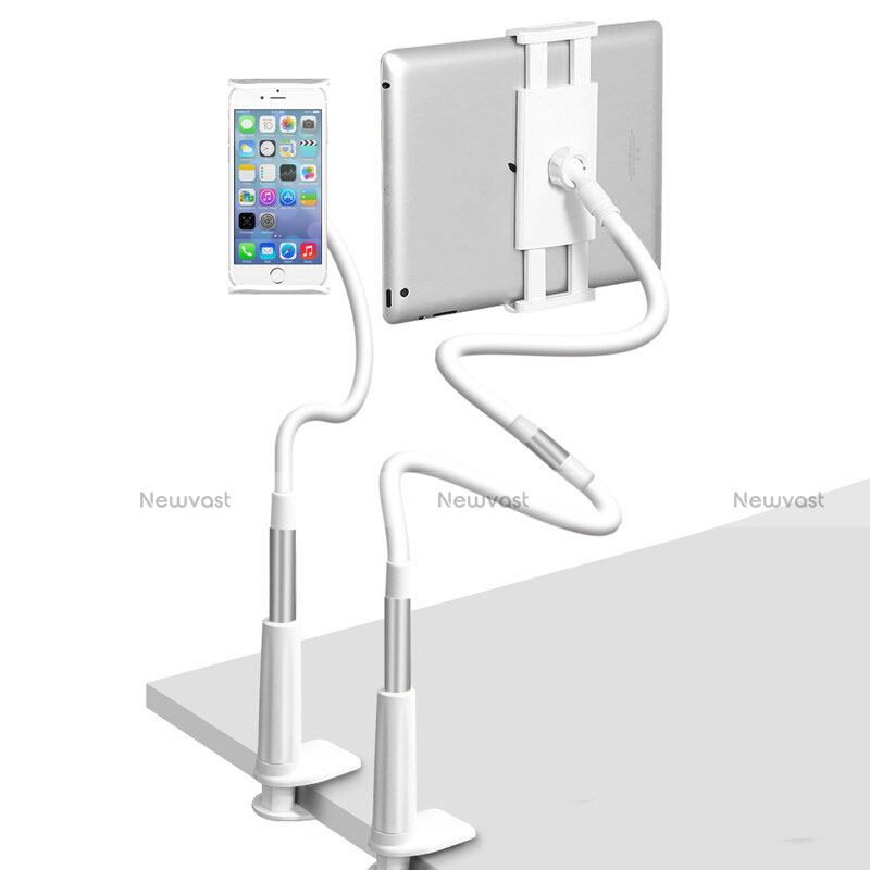 Flexible Tablet Stand Mount Holder Universal T33 for Apple iPad 3 Silver