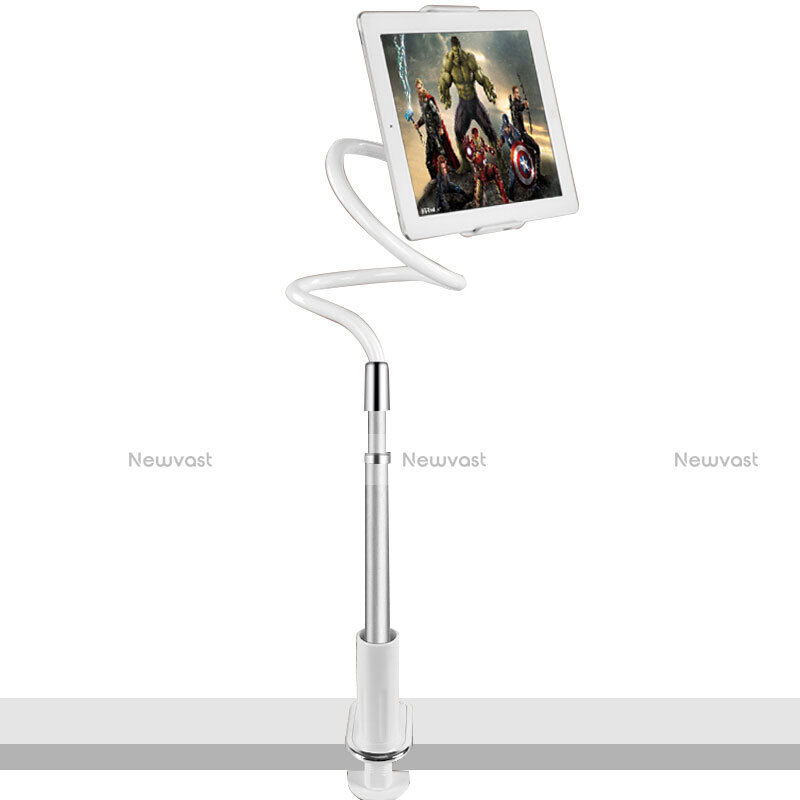 Flexible Tablet Stand Mount Holder Universal T36 for Apple iPad 2 Silver