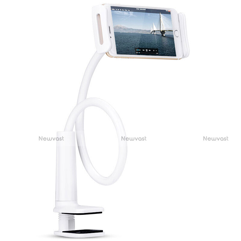 Flexible Tablet Stand Mount Holder Universal T38 for Apple iPad 2 White