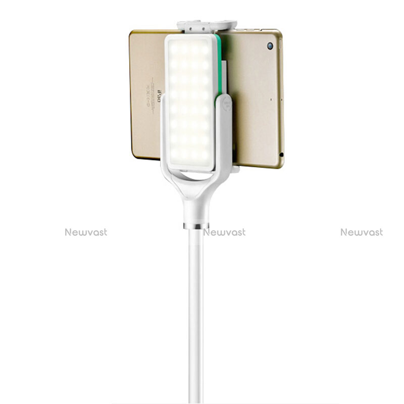 Flexible Tablet Stand Mount Holder Universal T40 for Apple iPad 2 White