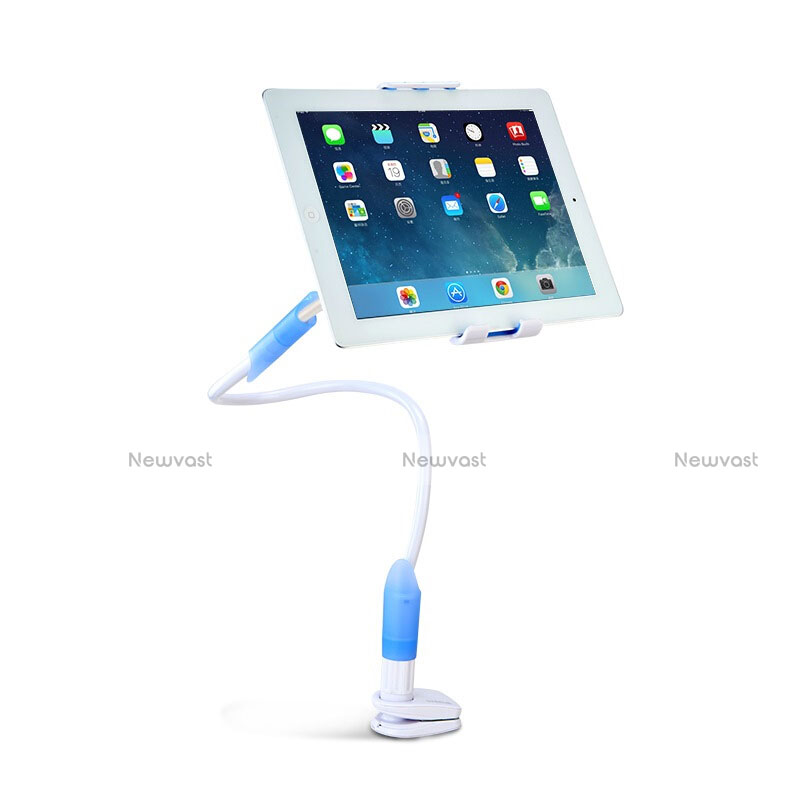 Flexible Tablet Stand Mount Holder Universal T41 for Apple iPad 2 Sky Blue