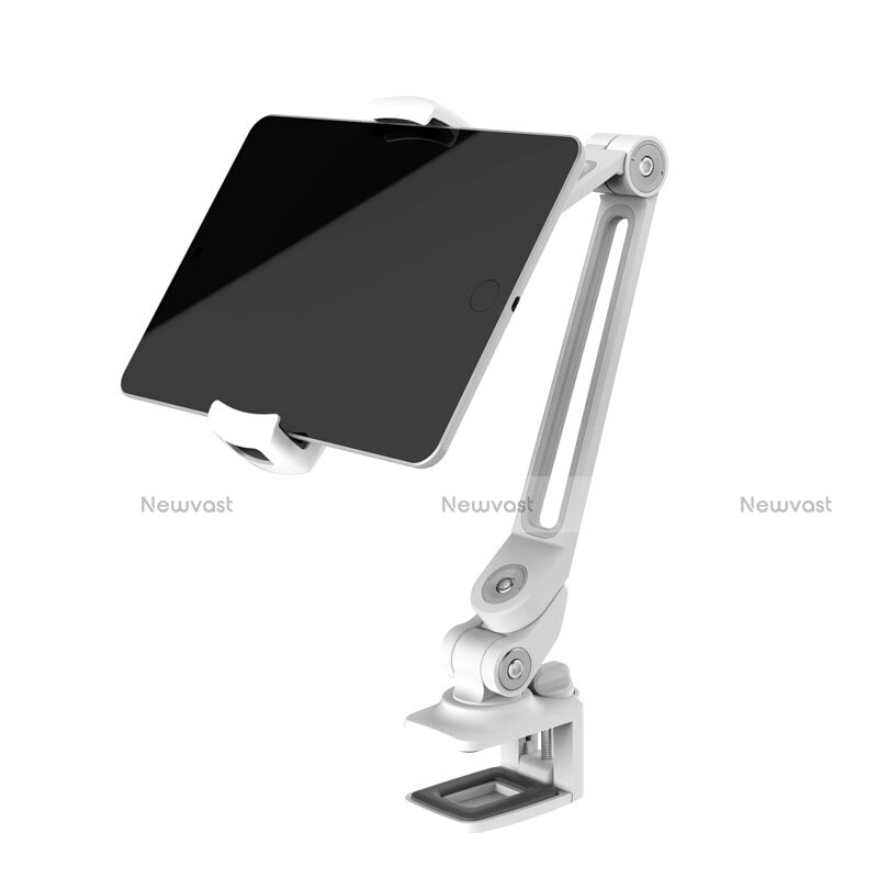 Flexible Tablet Stand Mount Holder Universal T43 for Apple iPad 2 Silver
