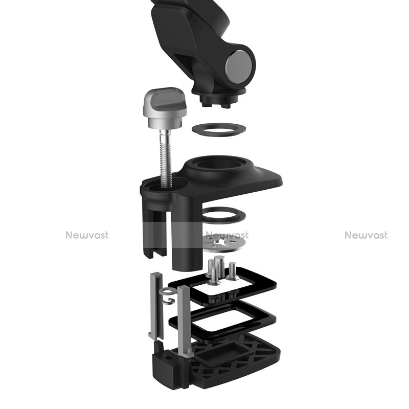 Flexible Tablet Stand Mount Holder Universal T43 for Apple iPad 3 Black