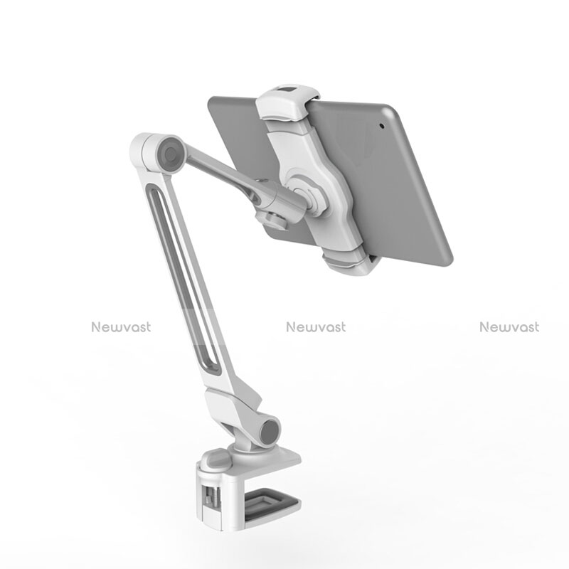 Flexible Tablet Stand Mount Holder Universal T43 for Apple iPad 3 Silver