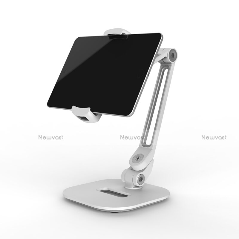 Flexible Tablet Stand Mount Holder Universal T44 for Apple iPad 3 Silver