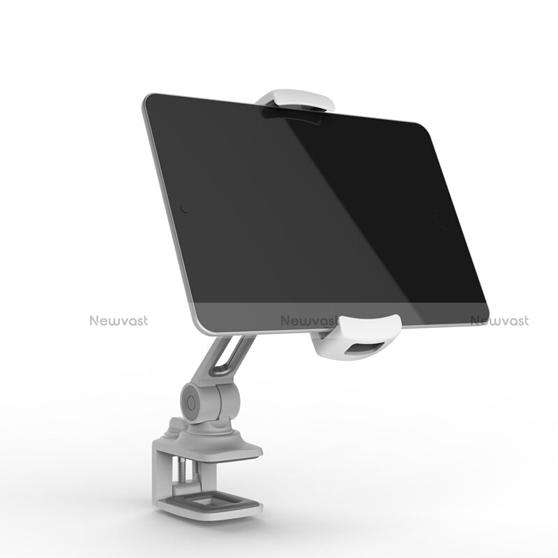 Flexible Tablet Stand Mount Holder Universal T45 for Apple iPad 2 Silver