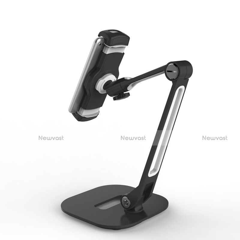 Flexible Tablet Stand Mount Holder Universal T46 for Apple iPad 3 Black