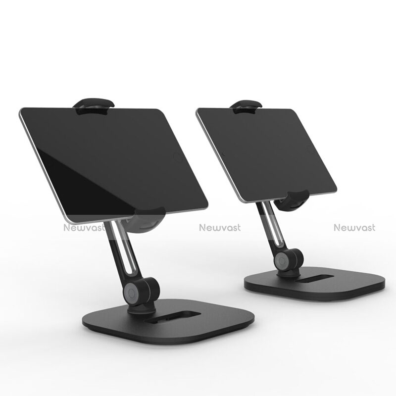 Flexible Tablet Stand Mount Holder Universal T47 for Apple iPad 3 Black