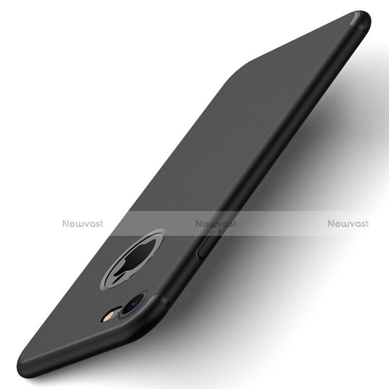 Hard Rigid Plastic Matte Finish Back Cover for Apple iPhone SE (2020) Black