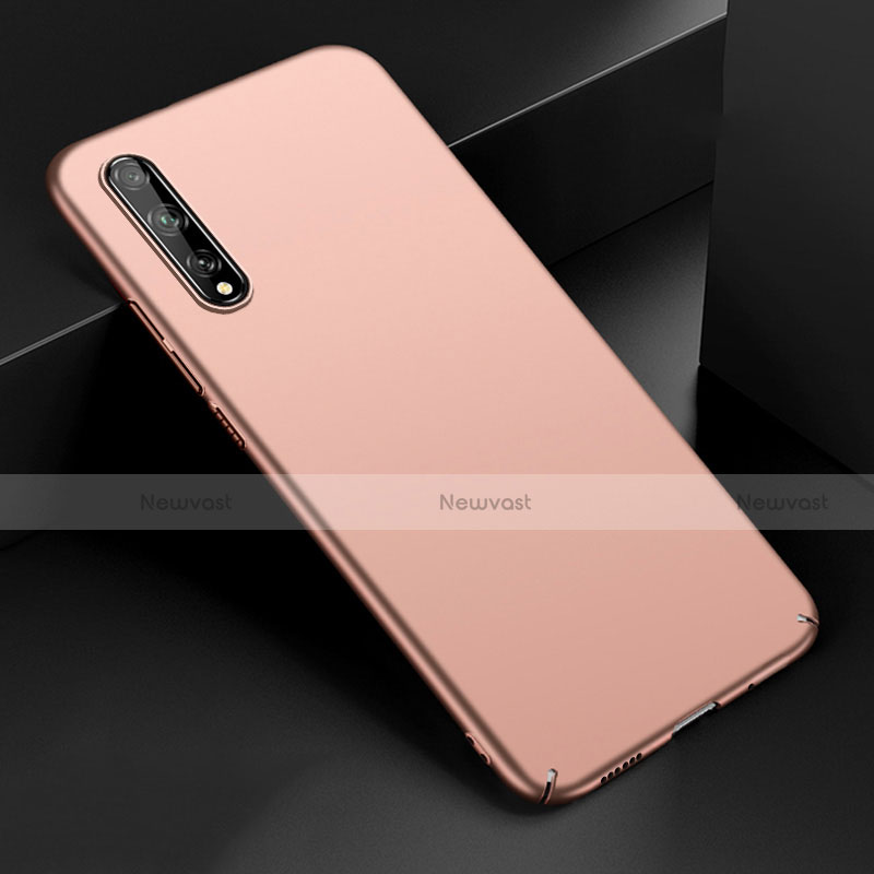 Hard Rigid Plastic Matte Finish Case Back Cover M01 for Huawei Enjoy 10S