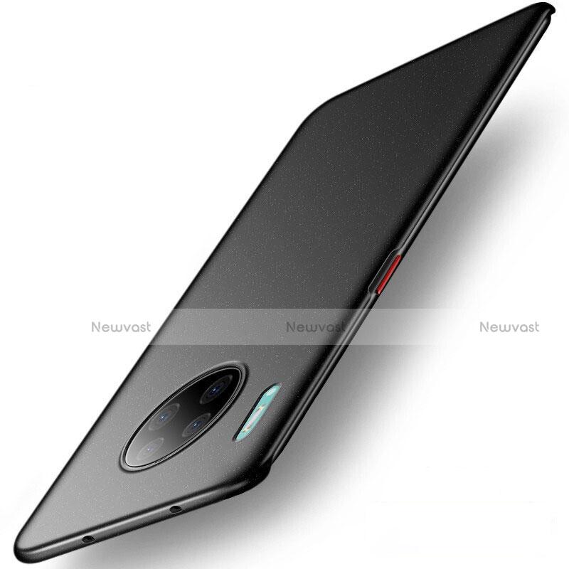 Hard Rigid Plastic Matte Finish Case Back Cover M01 for Huawei Mate 30 Pro 5G Black