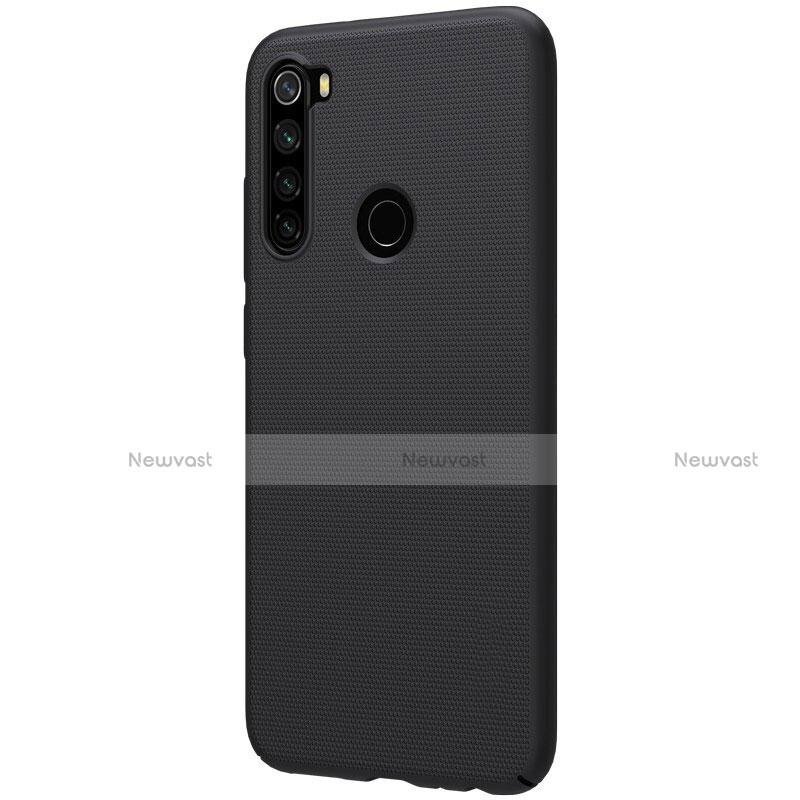 Hard Rigid Plastic Matte Finish Case Back Cover M01 for Xiaomi Redmi Note 8 Black