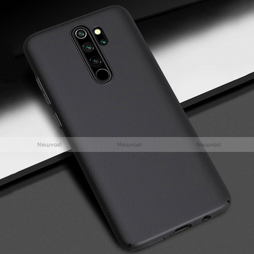 Hard Rigid Plastic Matte Finish Case Back Cover M01 for Xiaomi Redmi Note 8 Pro Black