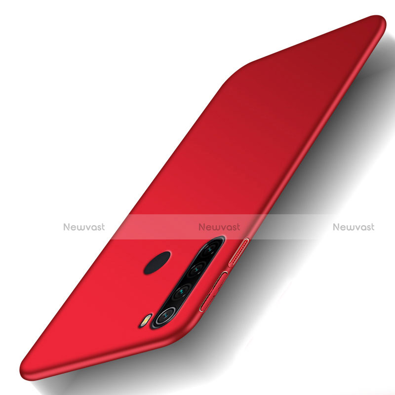 Hard Rigid Plastic Matte Finish Case Back Cover M02 for Xiaomi Redmi Note 8