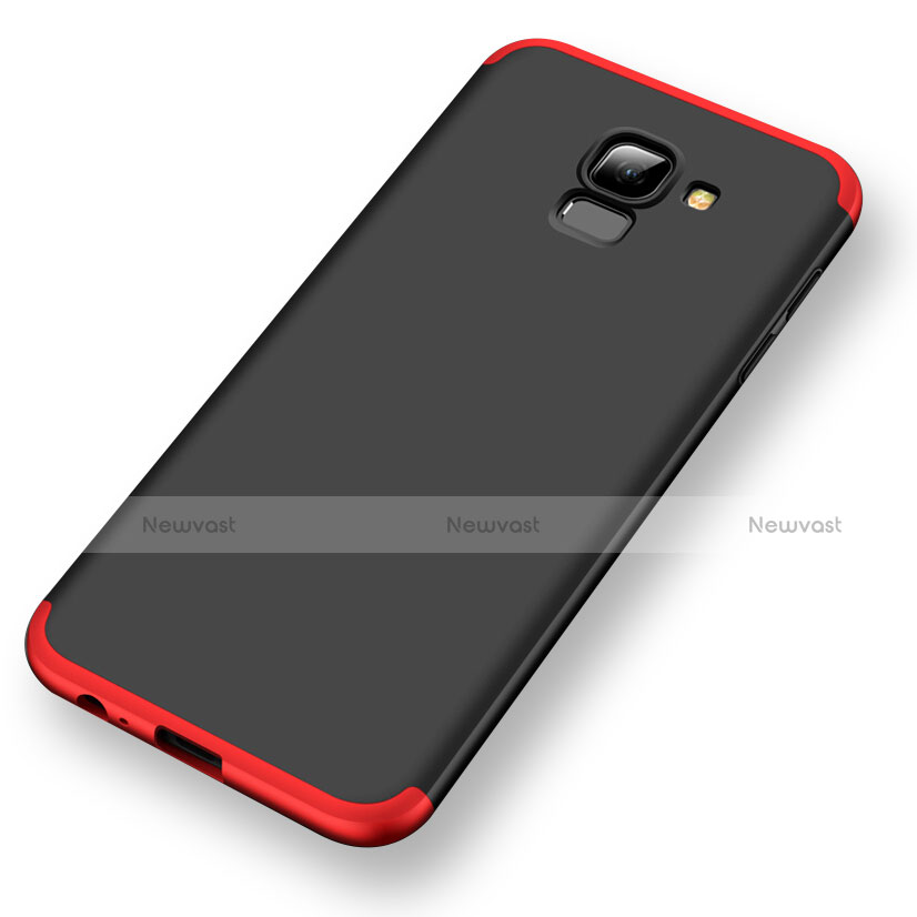 Hard Rigid Plastic Matte Finish Front and Back Cover Case 360 Degrees for Samsung Galaxy A6 (2018)