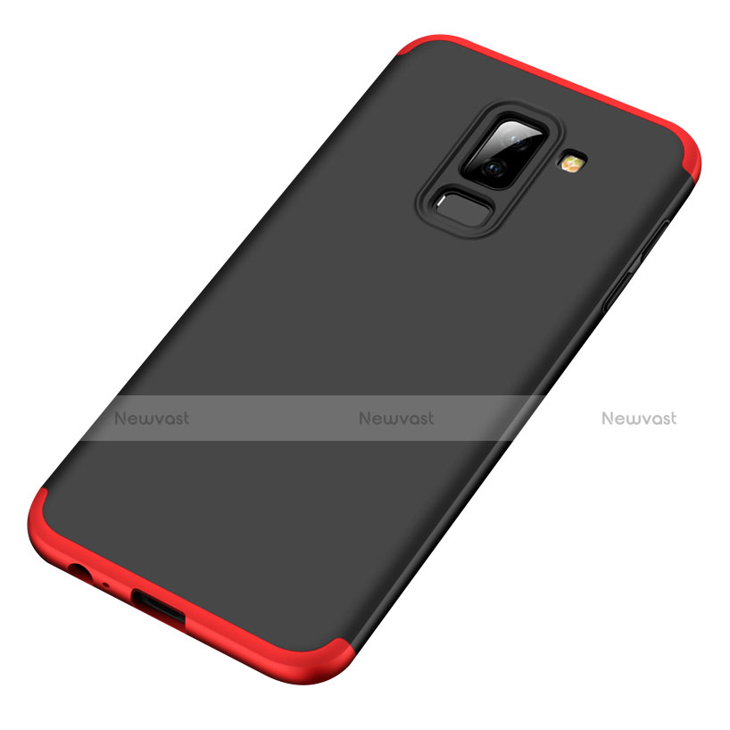 Hard Rigid Plastic Matte Finish Front and Back Cover Case 360 Degrees for Samsung Galaxy A6 Plus