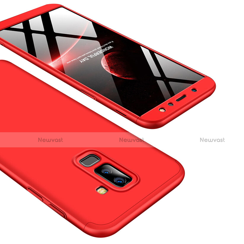 Hard Rigid Plastic Matte Finish Front and Back Cover Case 360 Degrees for Samsung Galaxy A9 Star Lite