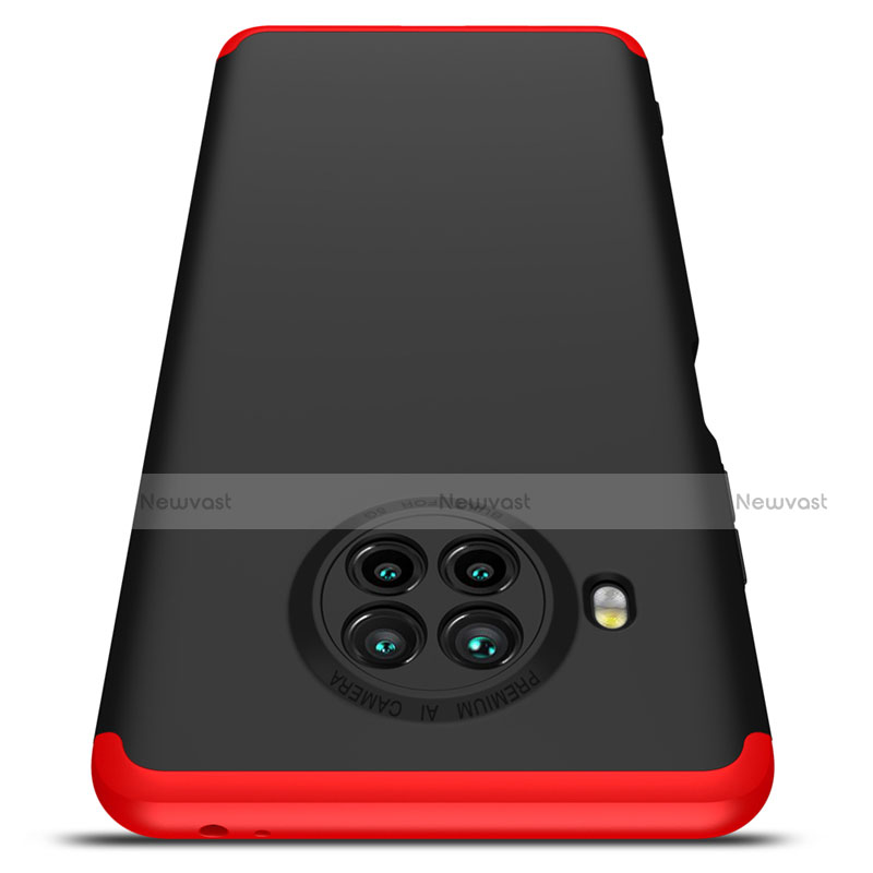 Hard Rigid Plastic Matte Finish Front and Back Cover Case 360 Degrees for Xiaomi Mi 10T Lite 5G
