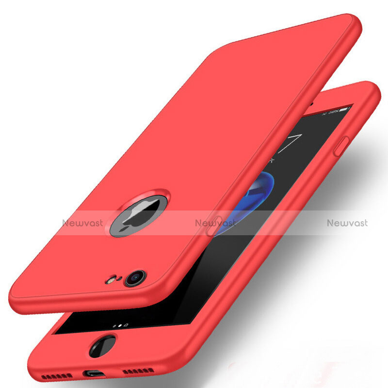 Hard Rigid Plastic Matte Finish Front and Back Cover Case 360 Degrees P01 for Apple iPhone SE (2020)