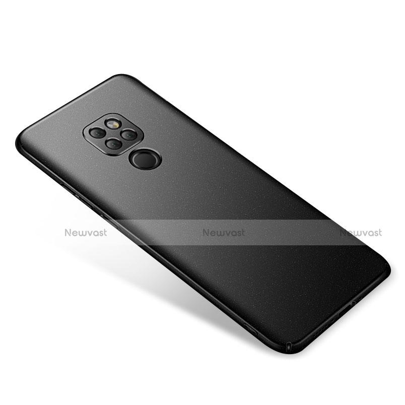 Hard Rigid Plastic Matte Finish Snap On Case for Huawei Mate 20 Black