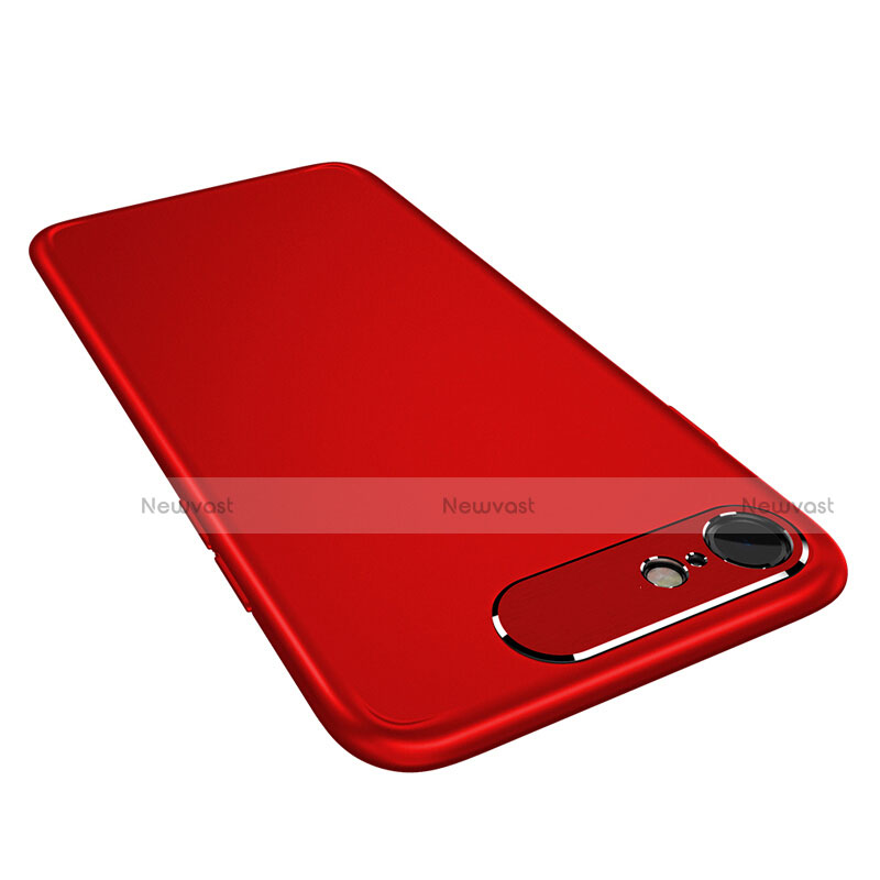 Hard Rigid Plastic Matte Finish Snap On Case M02 for Apple iPhone SE (2020) Red