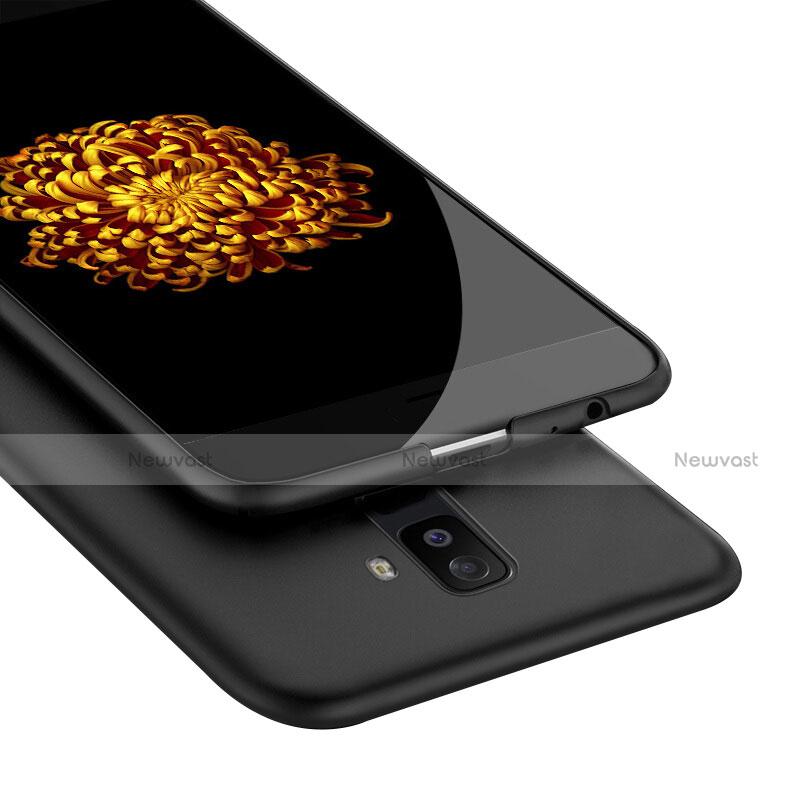 Hard Rigid Plastic Matte Finish Snap On Case M02 for Samsung Galaxy A9 Star Lite Black