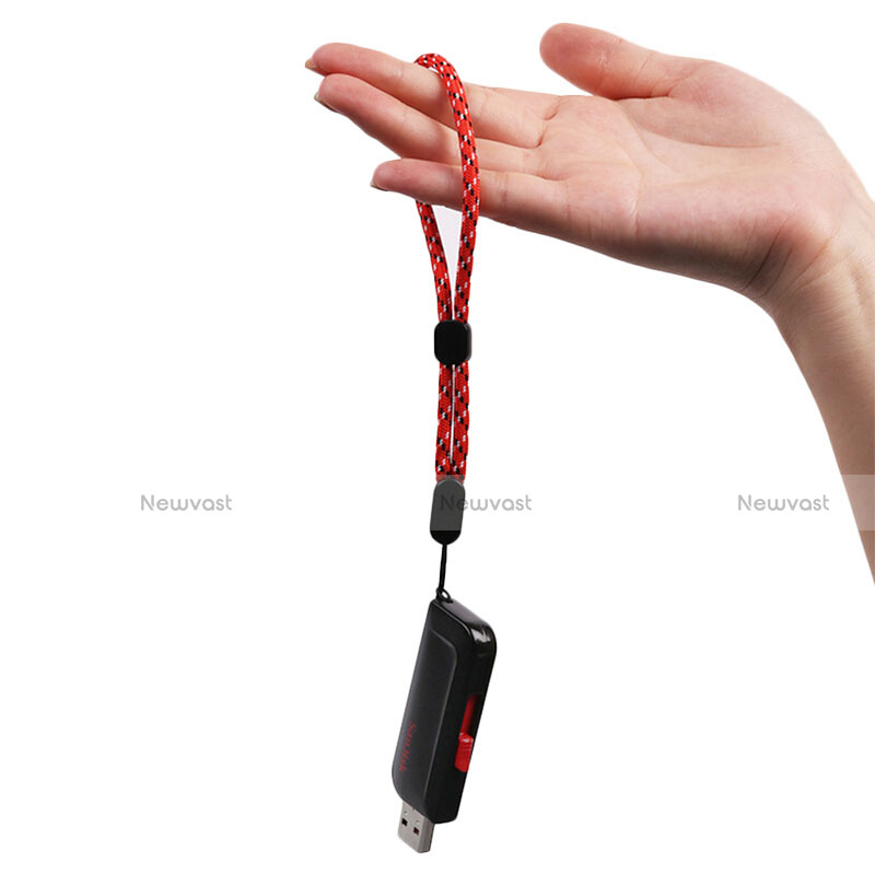 Lanyard Cell Phone Strap Universal K04 Red