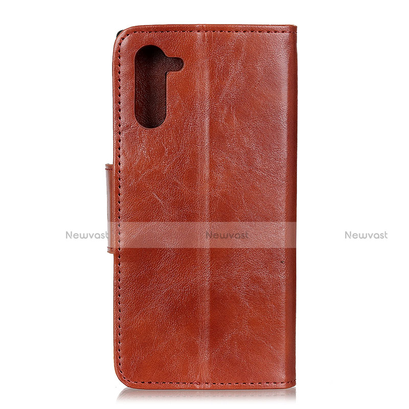 Leather Case Stands Flip Cover Holder for Oppo Reno3 A