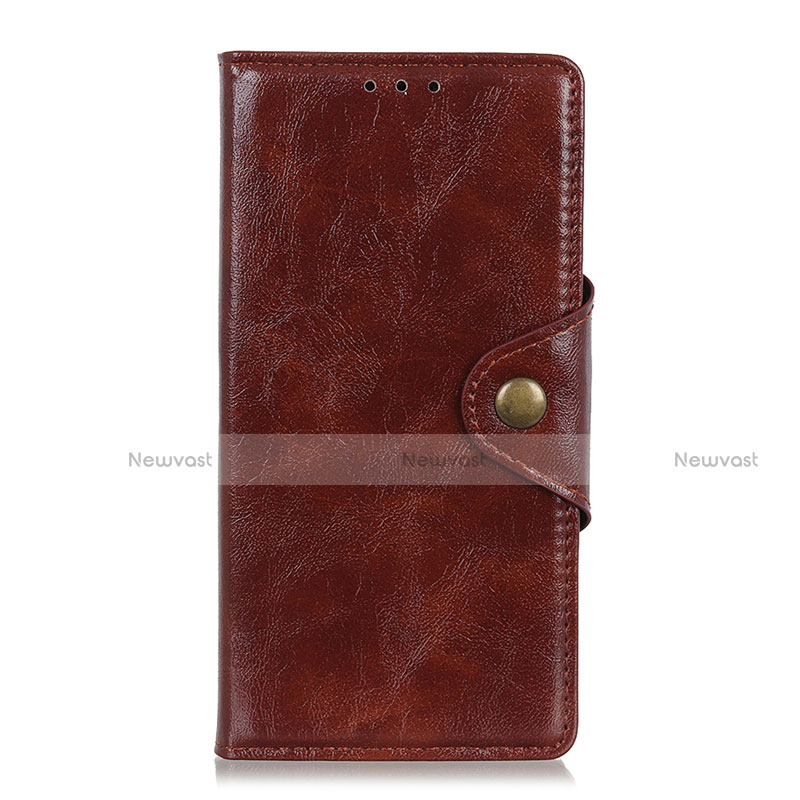 Leather Case Stands Flip Cover L01 Holder for Huawei Y8p