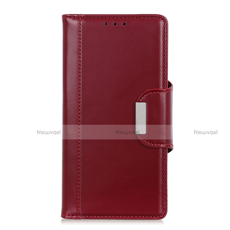 Leather Case Stands Flip Cover L02 Holder for Huawei P Smart (2020)