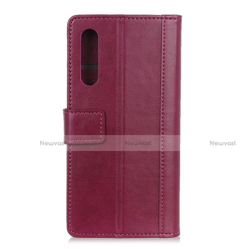 Leather Case Stands Flip Cover L02 Holder for Huawei Y8p
