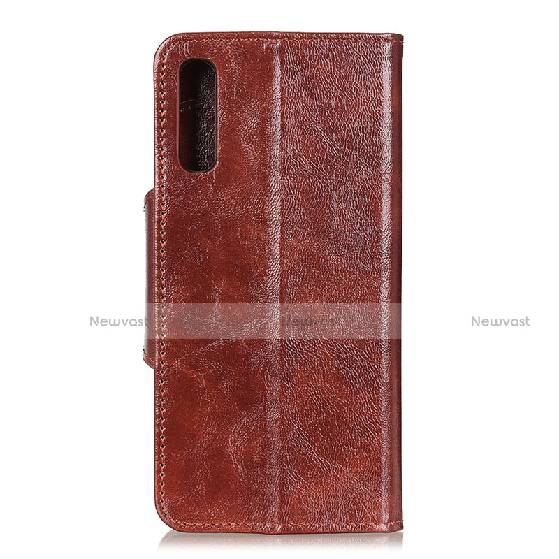 Leather Case Stands Flip Cover L03 Holder for Huawei Y8p