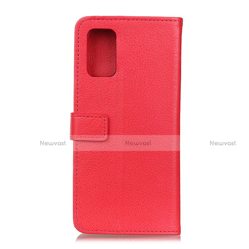 Leather Case Stands Flip Cover L03 Holder for Motorola Moto G9 Plus