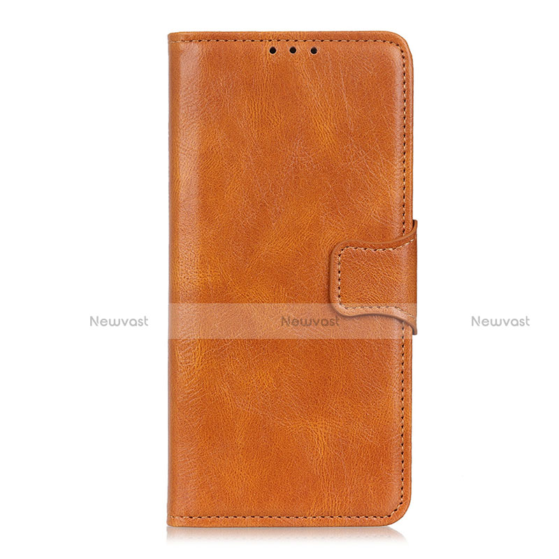 Leather Case Stands Flip Cover L03 Holder for Oppo Reno3 A Orange