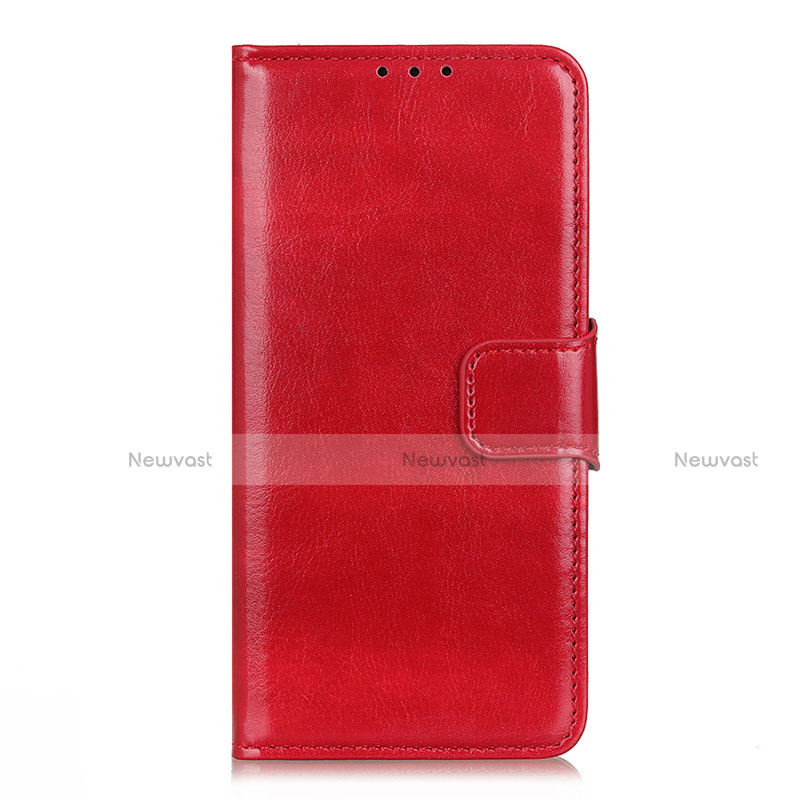 Leather Case Stands Flip Cover L04 Holder for Huawei Enjoy 10S Red