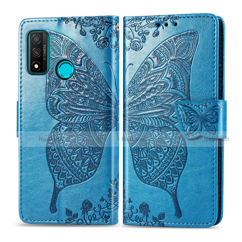 Leather Case Stands Flip Cover L04 Holder for Huawei P Smart (2020)
