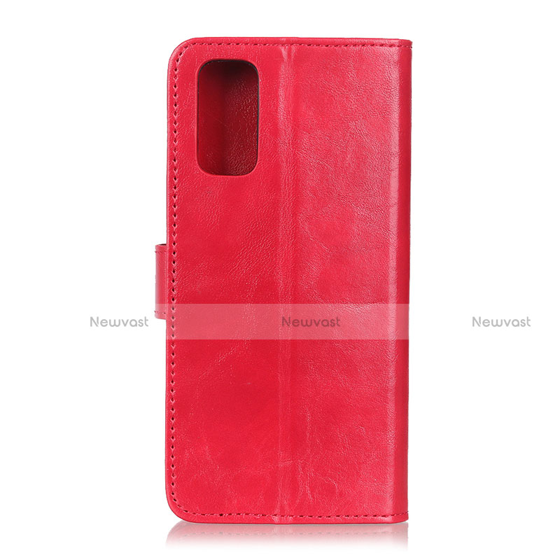 Leather Case Stands Flip Cover L04 Holder for Motorola Moto G9 Plus