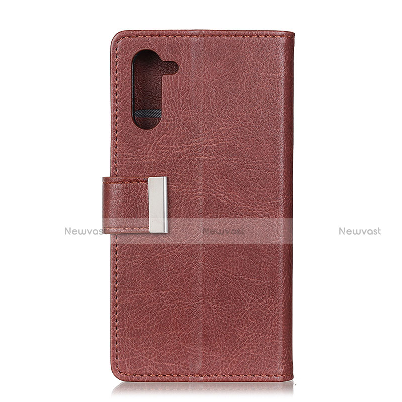 Leather Case Stands Flip Cover L04 Holder for Oppo Reno3 A