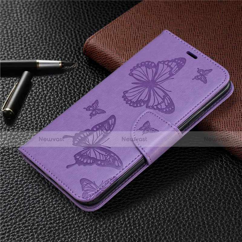 Leather Case Stands Flip Cover L05 Holder for Huawei P Smart (2020)