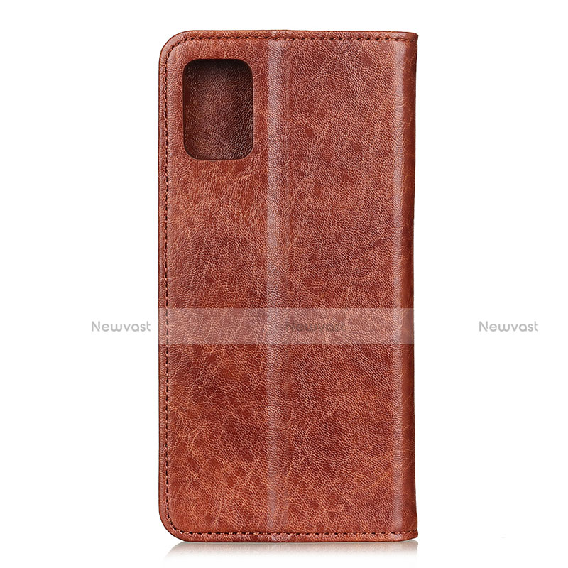 Leather Case Stands Flip Cover L05 Holder for Motorola Moto G9 Plus