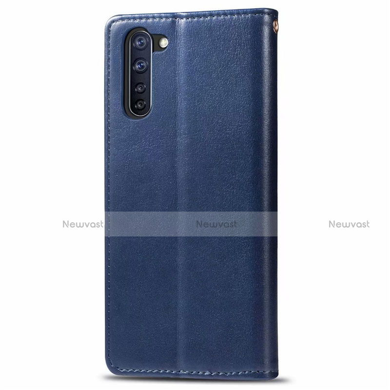 Leather Case Stands Flip Cover L06 Holder for Oppo Reno3 A