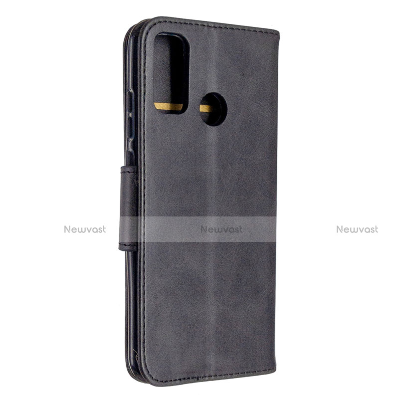 Leather Case Stands Flip Cover L07 Holder for Huawei P Smart (2020)