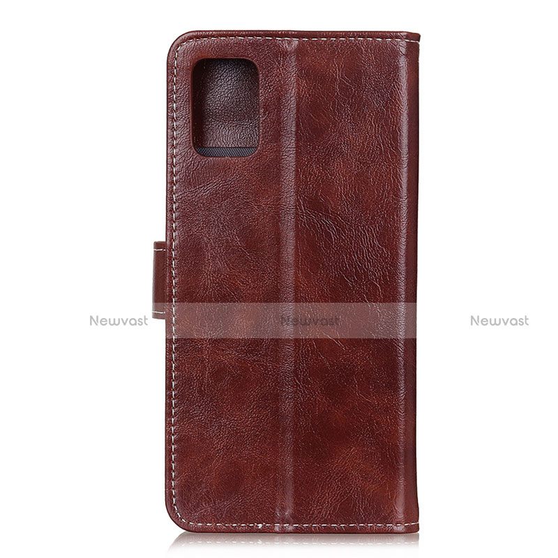Leather Case Stands Flip Cover L07 Holder for Motorola Moto G9 Plus