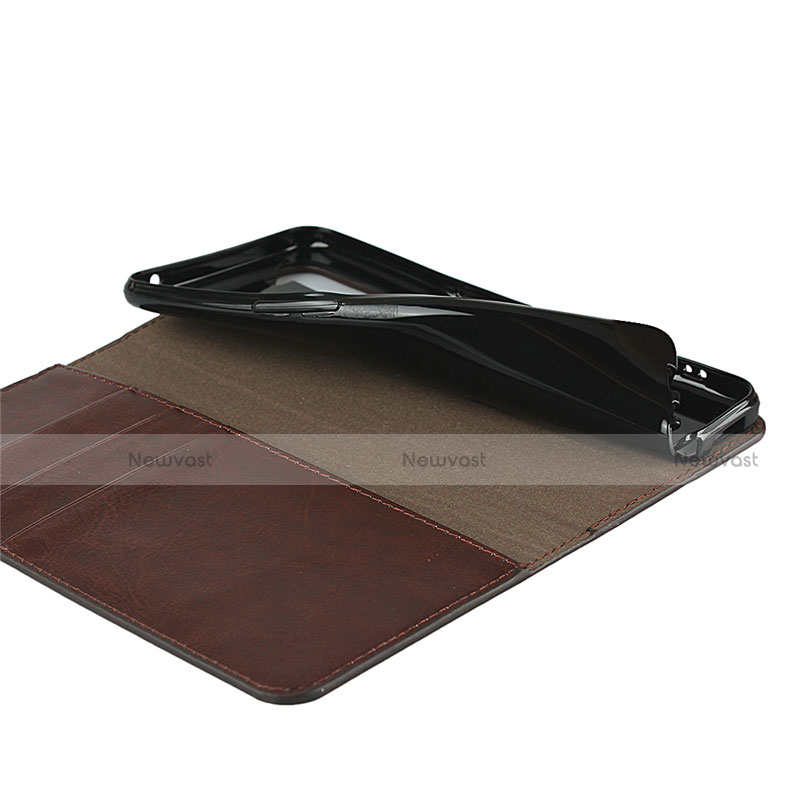 Leather Case Stands Flip Cover L07 Holder for Oppo Reno3 A