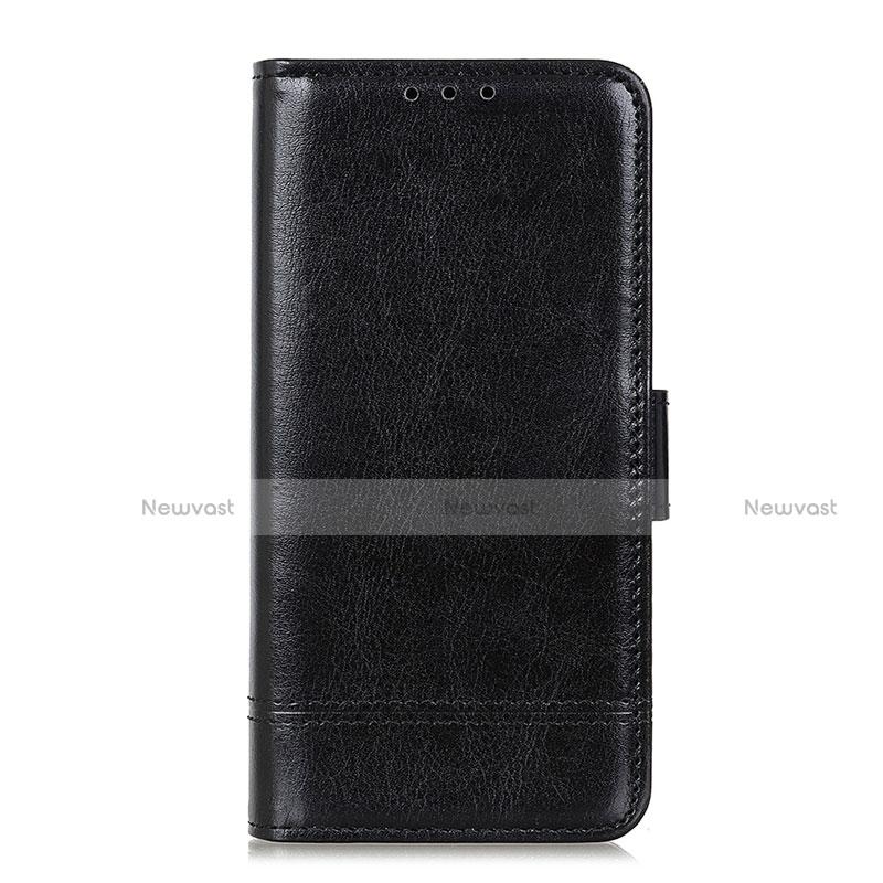 Leather Case Stands Flip Cover L09 Holder for Huawei Enjoy 10S Black